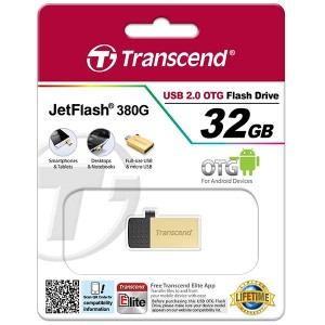 Transcend JetFlash 380G USB 2.0 OTG - 32GB