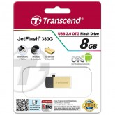 Transcend JetFlash 380G USB 2.0 OTG - 8GB
