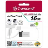Transcend JetFlash 380S USB 2.0 OTG - 16GB