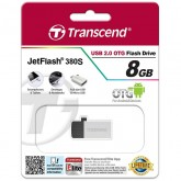 Transcend JetFlash 380S USB 2.0 OTG - 8GB