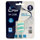 Vikingman VM259B Candy Bar Soft Touch Rubber flash drive USB 2.0 - 8GB