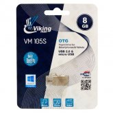 Vikingman VM105S flash drive USB 2.0 OTG - 8GB