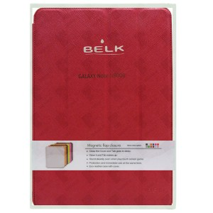 Belk Protective Microfiber Magnetic Case for Tablet Samsung Galaxy Note 10.1 N8000