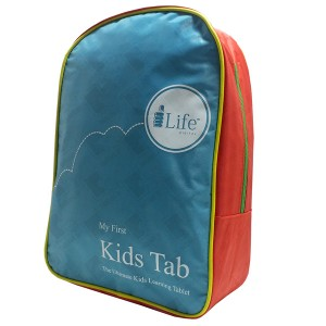 i-Life Blue Back Pack for Kids Tablet
