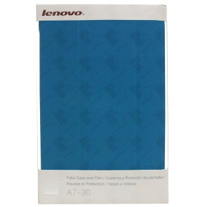 Original Folio Case and Film for Tablet Lenovo IdeaTab A7-30 A3300