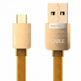 Original Remax Golden Micro USB Data Cable