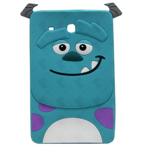 3D Back Cover Monster Company for Tablet Samsung Galaxy Tab E 9.6 SM-T560