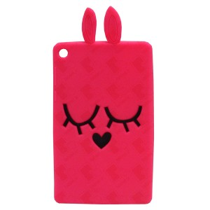 3D Back Cover Pink Love for Tablet Lenovo TAB 3 7 Essential TB3-710