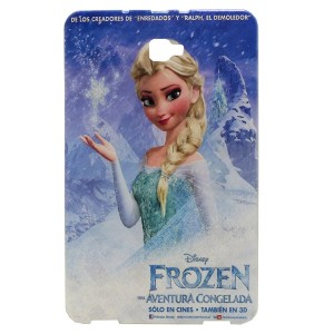 Jelly Back Cover Elsa for Tablet Samsung Galaxy Tab A 10.1 SM-T585 Model 1