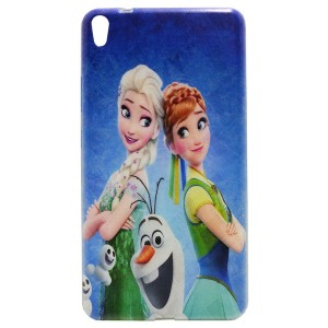 Jelly Back Cover Elsa for Tablet Lenovo TAB 3 7 Plus TB-7703X Model 2