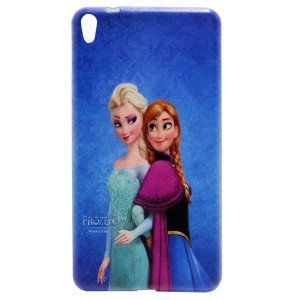 Jelly Back Cover Elsa for Tablet Lenovo PHAB Dual Sim PB1-750 Model 3