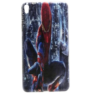 Jelly Back Cover Spider Man for Tablet Lenovo PHAB Dual Sim PB1-750