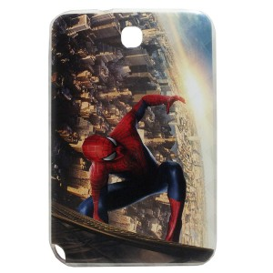 Jelly Back Cover Spider Man for Tablet Samsung Galaxy Note 8 N5100