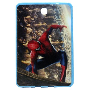 Jelly Back Cover Spider Man for Tablet Samsung Galaxy Tab S2 8 SM-T715
