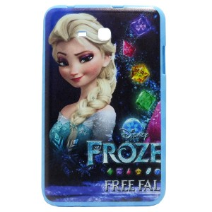 Jelly Back Cover Elsa for Tablet Samsung Galaxy Tab 3 Lite 7.0 SM-T116 Model 1