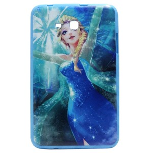 Jelly Back Cover Elsa for Tablet Samsung Galaxy Tab 3 Lite 7.0 SM-T116 Model 2