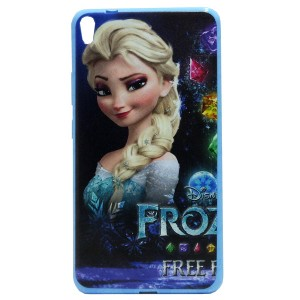 Jelly Back Cover Elsa for Tablet Lenovo TAB 3 7 Plus TB-7703X Model 4