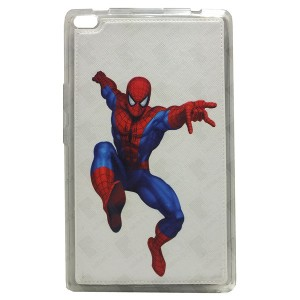 Sewed Jelly Back Cover Spider Man for Tablet Lenovo TAB 4 8 TB-8504