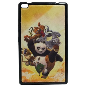 Sewed Jelly Back Cover kung fu panda for Tablet Lenovo TAB 4 8 TB-8504