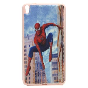 Sewed Jelly Back Cover Spider Man for Tablet Lenovo PHAB PB1-750