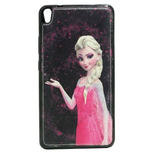 Sewed Jelly Back Cover Elsa for Tablet Lenovo TAB 3 7 Plus TB-7703X Model 5
