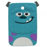 3D Back Cover Monster Company for Tablet Samsung Galaxy Note 8 N5100