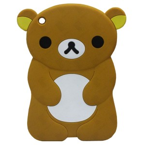 3D Back Cover Brown Bear for Tablet ASUS ZenPad 8 Z380KL 4G LTE