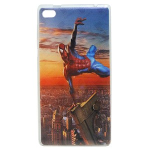 Jelly Back Cover Spider Man for Tablet Lenovo TAB 4 7 TB-7504 Model 1