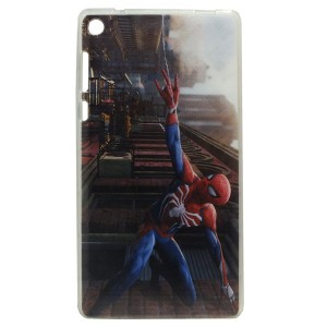 Jelly Back Cover Spider Man for Tablet Lenovo TAB 3 7 TB3-730 Model 2