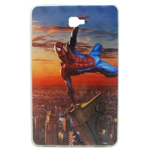 Jelly Back Cover Spider Man for Tablet Samsung Galaxy Tab A 10.1 SM-T585