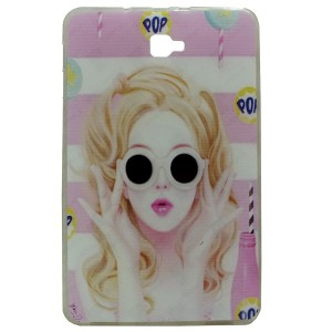 Pop Jelly Back Cover for Tablet Samsung Galaxy Tab A 10.1 SM-T585