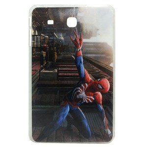 Jelly Back Cover Spider Man for Tablet Samsung Galaxy Tab E 9.6 SM-T560