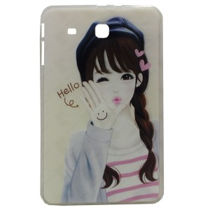 Hello Jelly Back Cover for Tablet Samsung Galaxy Tab E 9.6 SM-T560