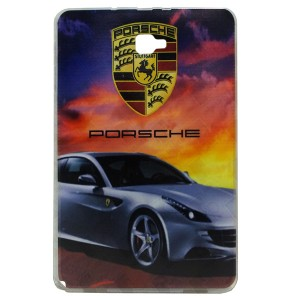 Jelly Back Cover Porsche for Tablet Samsung Galaxy Tab A 2016 SM-P585