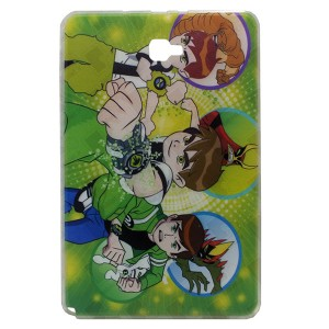 Jelly Back Cover Ben 10 for Tablet Samsung Galaxy Tab A 2016 SM-P585