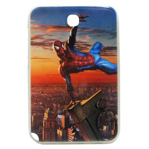 Jelly Back Cover Spider Man for Tablet Samsung Galaxy Note 8 N5100 Model 2