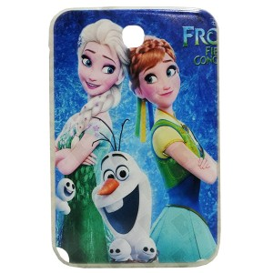 Jelly Back Cover Elsa for Tablet Samsung Galaxy Note 8 N5100 Model 2