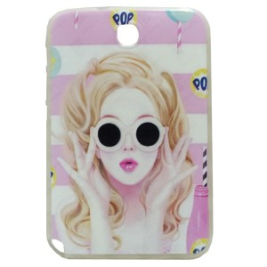 Pop Jelly Back Cover for Tablet Samsung Galaxy Note 8 N5100