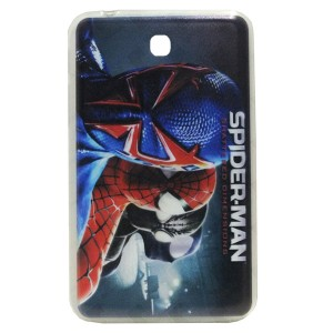 Jelly Back Cover Spider Man for Tablet Samsung Galaxy Tab P3200