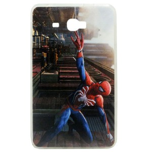 Jelly Back Cover Spider Man for Tablet Samsung Galaxy Tab A 7 SM-T285 Model 2