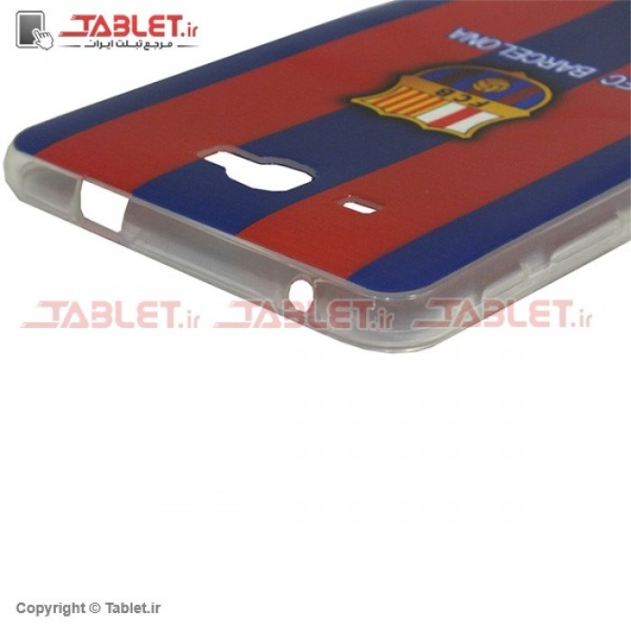 size 40 b4dfb d1cc5 Jelly Back Cover Barcelona for Tablet Samsung Galaxy Tab A 7 SM-T285