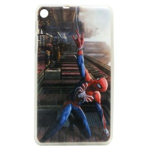 Jelly Back Cover Spider Man for Tablet Huawei MediaPad T1 7.0 701u