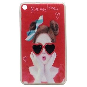 Lovely Jelly Back Cover for Tablet Huawei MediaPad T1 7 701u