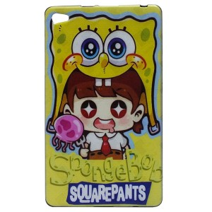 Jelly Back Cover SpongeBob for Tablet Huawei MediaPad M2 801L 8.0