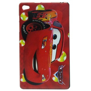 Jelly Back Cover Disney Cars for Tablet Huawei MediaPad M2 801L 8.0