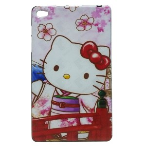 Jelly Back Cover Hello Kitty for Tablet Huawei MediaPad M2 801L 8.0