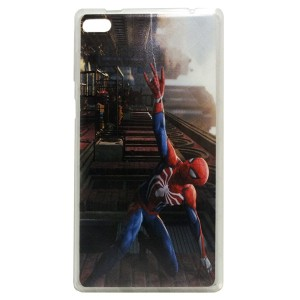 Jelly Back Cover Spider Man for Tablet Lenovo TAB 4 7 Essential TB-7304 Model 2