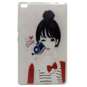 Smile Jelly Back Cover for Tablet Lenovo TAB 4 8 TB-8504