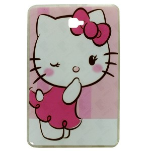 Jelly Back Cover Hello Kitty for Tablet Samsung Galaxy Tab A 2016 SM-P585