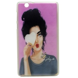 Girly Jelly Back Cover for Tablet Huawei MediaPad T3 7